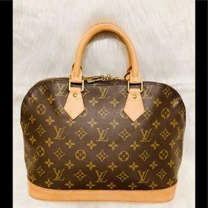 GORGEOUS!!! Louis Vuitton Alma PM #5.5p VI 0937